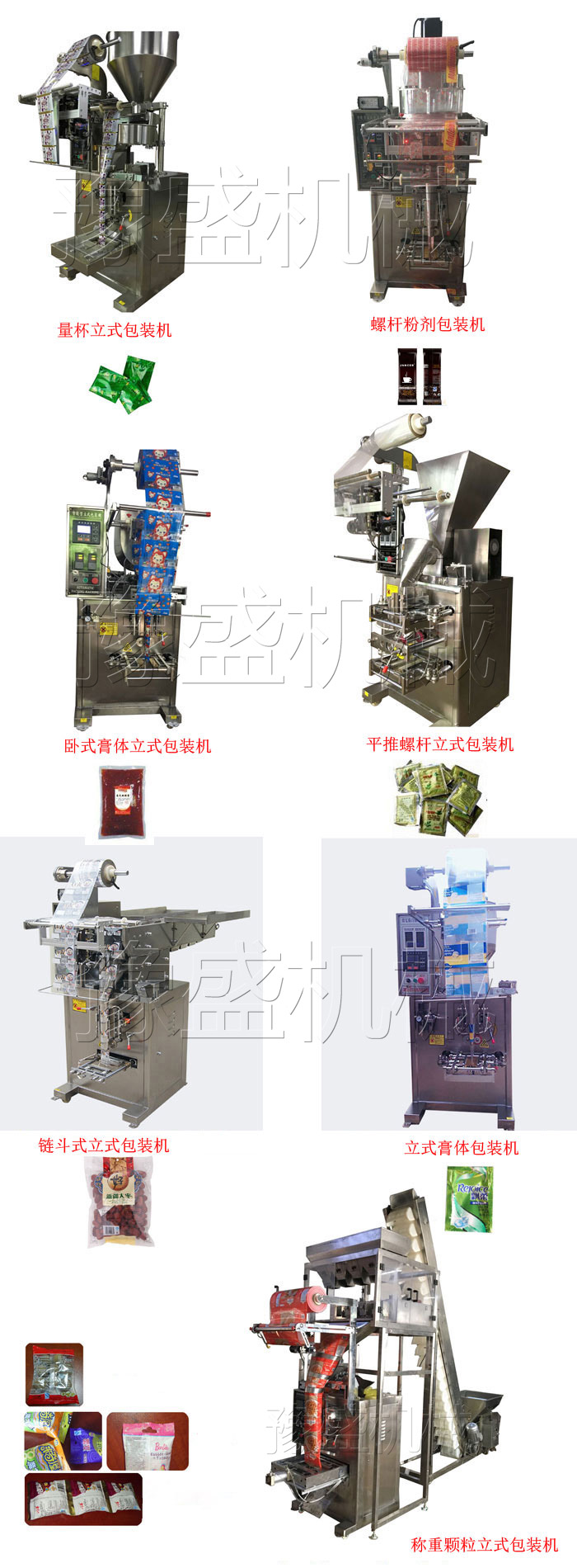 咖啡粉全自动包装机工作流程图