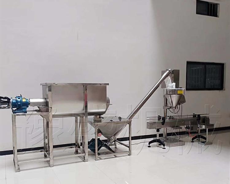 小剂量粉剂包装机工作流程图